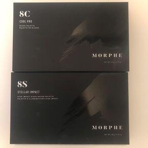 Morphe 8c Blush & Morphe 8s Highlighter Palettes!